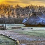 """Winter Morning at Sunwatch Indian Village Dayton O"" by jimcrotty"