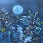 """Blue Garden"" by johnKeaton"