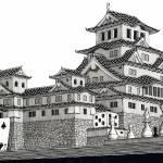 """""""Himeji Castle"""" by iroot"""