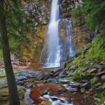 """""""Virginia Falls Glacier National Park 2 by Jim Crot"""" by jimcrotty"""
