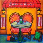"""Table for Two in Paris"" by LisaLorenz"