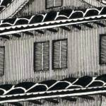 """Himeji Castle detail 1"" by iroot"