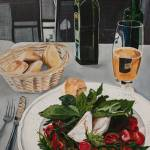 """Caprese Lunch in Prague"" by DeniseMarieSaylor"