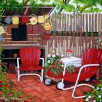 """The Back Patio"" by ketring"