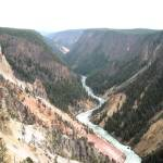 """Yellowstone Canyon"" by JamesDavis"