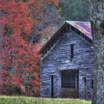 """Barn in Autumn at Cades Cove"" by jimcrotty"