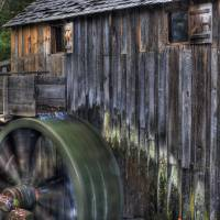Old Mill at Cades Cove by Jim Crotty
