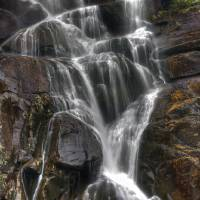 Ramsay Cascade Great Smoky Mountain NP by Jim Crotty