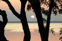 Sunset on Lake Koshkonong