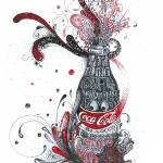 """coca cola sketch"" by Chin2off"