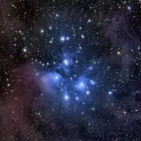 """The Pleiades also known as the Seven Sisters"" by StockTrek Images"
