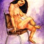 """""""Maria in Her Chair"""" by randysprout2004"""