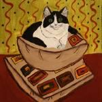 """""""Princess Fat Cat"""" by magnoliadorn"""