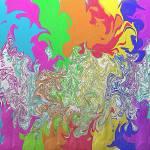 """Hyper Rainbow?"" by uneekart63"