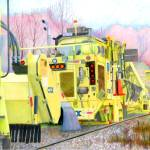 """CSX track repair vehicle colored pencil mod 1"" by Pauljs"