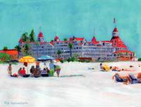 A Day At The Beach Coronado by Riccoboni
