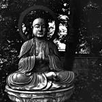 """Buddha in the Garden"" by VAphotoart"