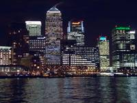 Canary Wharf by Night