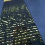 """""""Indigo Skyscraper"""" by fizzyimages"""