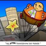 """Balloon Boy (The After Thanksgiving Day Parade)"" by ArtbyAndy"