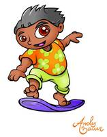 Surfer Boy - Character Design