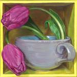 """""""Tea & Tulips"""" by soothedbyrainfall"""