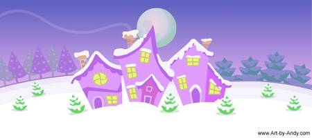 Santa Dance Background (ecard animation)