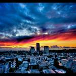 """Naik Michel Photography - Sunset over Santa Monica"" by naikmichel"