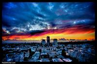 Naik Michel Photography - Sunset over Santa Monica