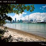 """MIAMI FROM BIZCAINE"" by HGLPhotography"