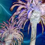 """Tripix Design 0001 - The Palm Tree Effect by Naik"" by naikmichel"