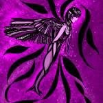 """""""Liquid Horizon - Purple"""" by Karenee"""