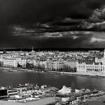 """Budapest BW (Pano Short)"" by RossPhotoWorks"