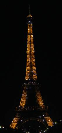 Sparkle Eiffel Tower