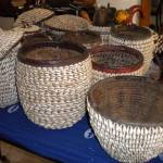 """Antique Cowrie Baskets"" by YA"