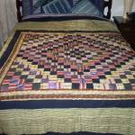 """Antique African Fusion Quilt with Gold Inlay"" by YA"