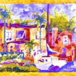 """Villa Monet"" by pinkpicasso"