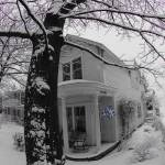 """""""House with snow"""" by jfdupuis"""