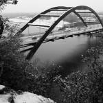 """Austin 360 Bridge and Snow"" by treyerice"