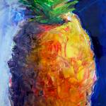 """Pineapple_FULL"" by drewdavisfineart"
