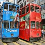 """Hong Kong Trams"" by sparrowhawk"