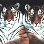 """Year of the Tiger painting"" by AnimalsbyDiDi"