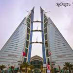 """Bahrain World Trade Center"" by kookiee"