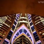 """Bahrain Trade Center - HDR"" by kookiee"