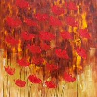 Red poppies' nostalgia 10708