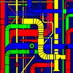 """""""Inspired by the Centre Georges Pompidou"""" by Lonvig"""