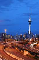 Auckland City At Dusk