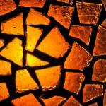 """Amber Glass Mosaic"" by perspectives"