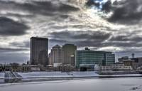 Dayton in January by Jim Crotty