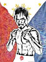 Manny Pacman Pacquiao:  The Fighting Pride of the